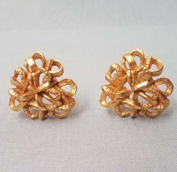 Elegant CHRISTIAN LACROIX earrings, clips - image 7