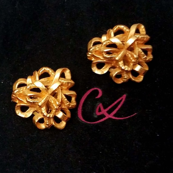 Elegant CHRISTIAN LACROIX earrings, clips - image 3