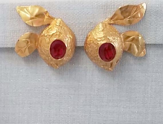Original CHRISTIAN LACROIX, vintage clip earrings