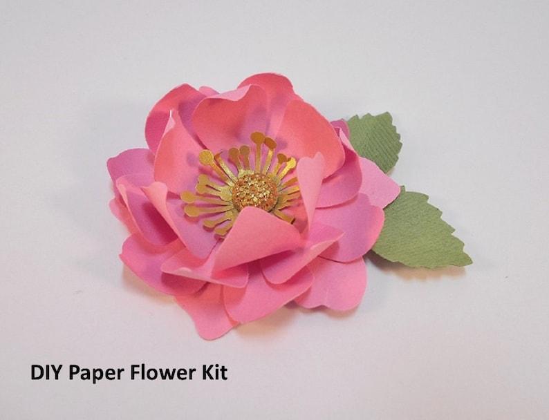 Make Super Easy Paper Flowers Diy Pre Cut 2 5 Inch Flowers Diy Flower Project Party Decor 3d Flowers Kid Friendly Craft