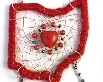 Ohio State Heart Football Buckeyes Dreamcatcher