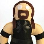 Rassle Buddies - The Undertaker WWE WWF WCW Wrestling Buddy Plush