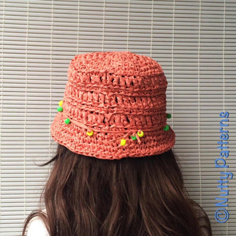 b7720c92cf9 Crochet Pattern Maya Hat PDF Instant download 497 Sun