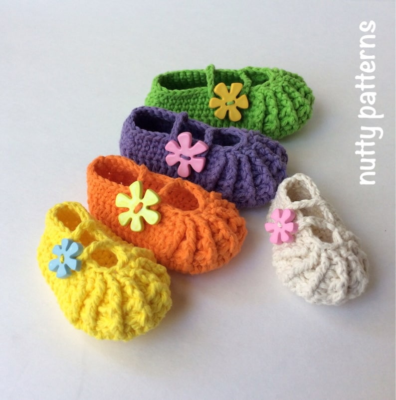 af6c0cf4c0e55 Crochet Pattern * Lisa Shoes* Instant Download Pattern # 461 * girls *  Premie to 3 yrs * easy * Picture Prop * birthdays *PDF