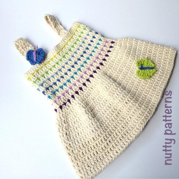 Crochet Pattern Bella Dress for Baby Girls and Toddler Girls | Etsy