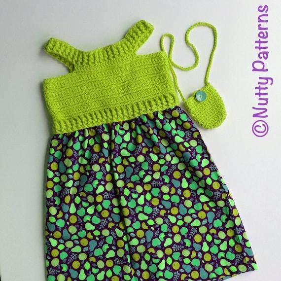 Crochet Patterns  Maya Sundress  PDF pattern  491  6 12