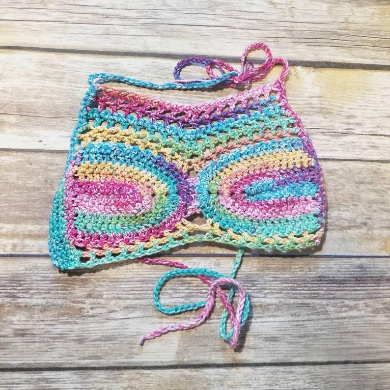 Festival Crop Top Crochet Top Best Selling Items Cotton Etsy