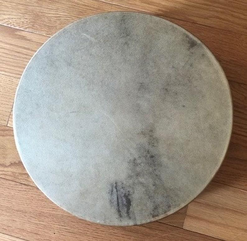 12 X 3 Authentic Native American Hand Drum image 0
