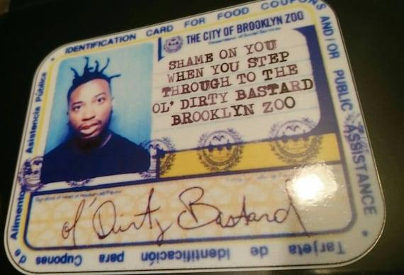 TWO ODB Ol Dirty Bastard Wu-Tang Clan Vinyl Decal Pack Sticker 2