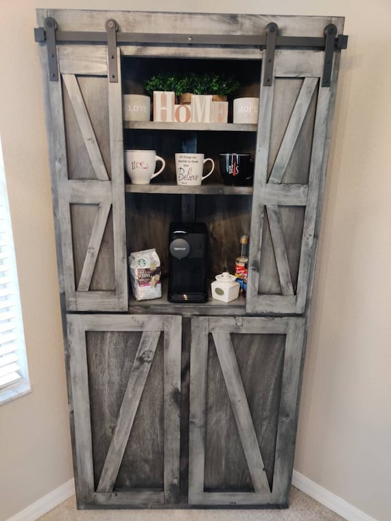 Free Shipping Handcrafted Farmhouse Furniture Corner Buffet Etsy