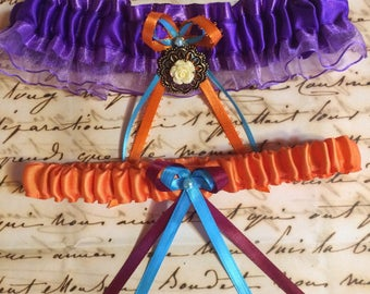 I Wont Say Im In Love - Megara and Hercules - EVER AFTER COLLECTION - Disney Inspired Garter Set