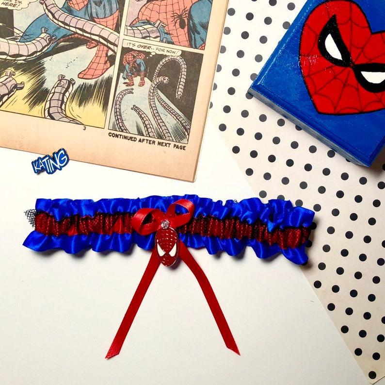 Marvel Comics Inspired Garter Spiderman