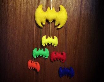 Colorful Batman Mobile / Wall Decor