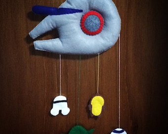 Star Wars Baby Mobile / Wall Decor