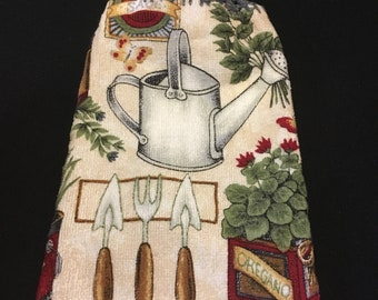 Watercan Double Sided Kitchen Hand Towel Gray 2