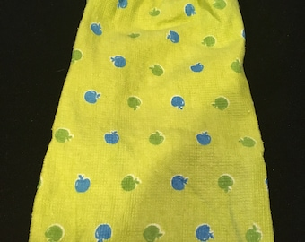 Tiny Apples Single Sided Kitchen Hand Towel White 1