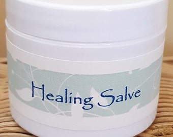 This Healing Salve was created for psoriasis, eczema and similar skin conditions. Try it on rashes and chronic skin conditions.