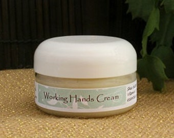 Working Hands Balm softens the driest skin. Nurses use it and so do carpenters!