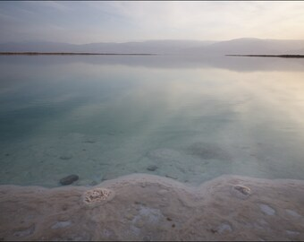 Sunrise at Dead Sea I - Color Photo Print - Fine Art Photography (IS10)