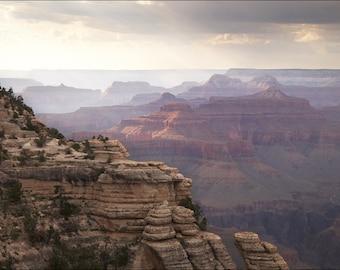 Grand Canyon at Sunset - Color Photo Print - Nature Art Photography (GC01)