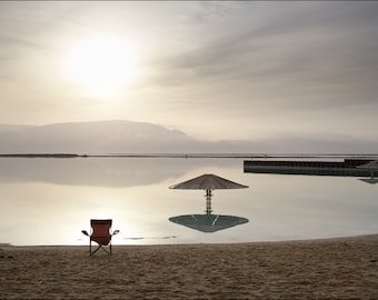 Dead Sea beach - Color Photo Print - Fine Art Photography (IS09)
