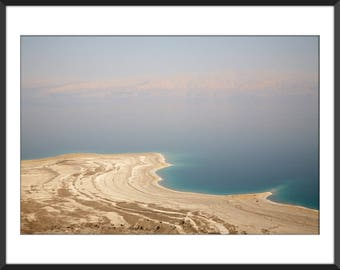 Dead Sea shore - Color Photo Print - Fine Art Photography (IS08)