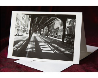 Chicago - Folded Greeting Card