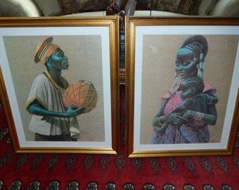 AFRICAN PRINT WALL Hangings