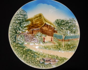 Western Germany Hand Painted Plate