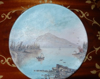 Hand Painted Plates from 1880's