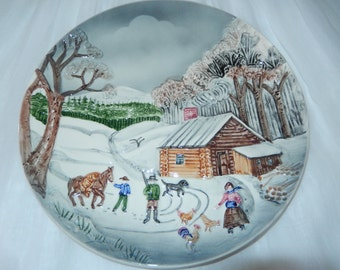 WEST GERMANY PLATE Wall Hanging