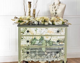 Decoupage Furniture Etsy