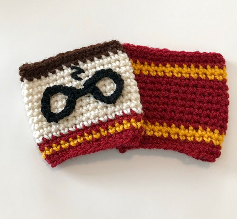 Harry Potter inspired Cup Cozy image 0
