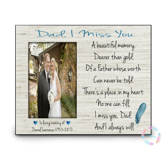 In Memory Dad Parent Daddy: In Memory Of Dad Memorial Gift Remembrance Dad Deceased