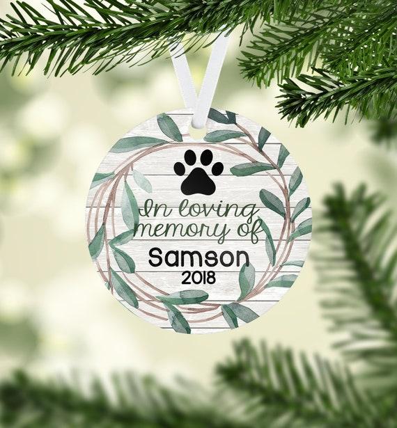 image 0 - Pet Memorial Christmas Ornament Pet Ornament Deceased Pet Etsy