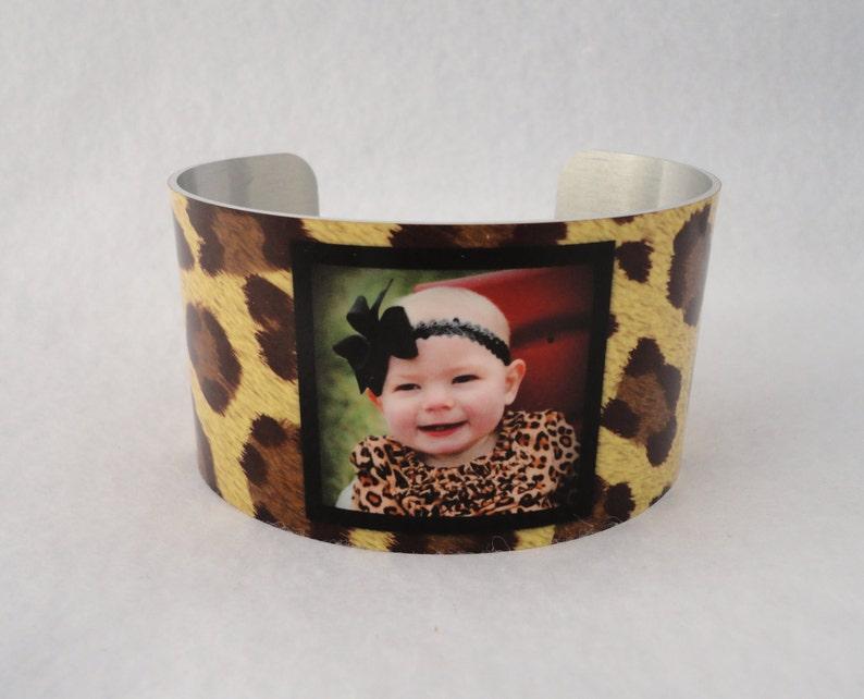 Grandchildren Bangle Custom Military Sister Photo Cuff Bracelet FUN! Pets