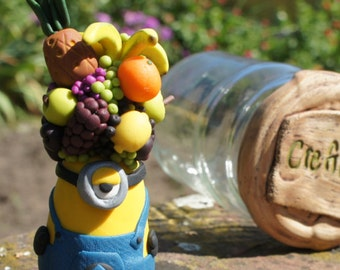 Minion: Adoo disguised as character, polymer clay