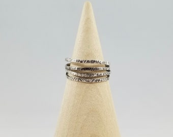 textured multi layer - ring