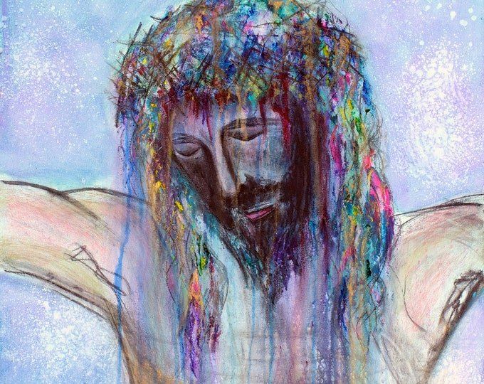 The Passion...Giclee Print of Original Mixed Media Artwork