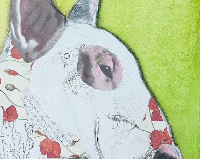 Bullie Love   Mixed Media Collage