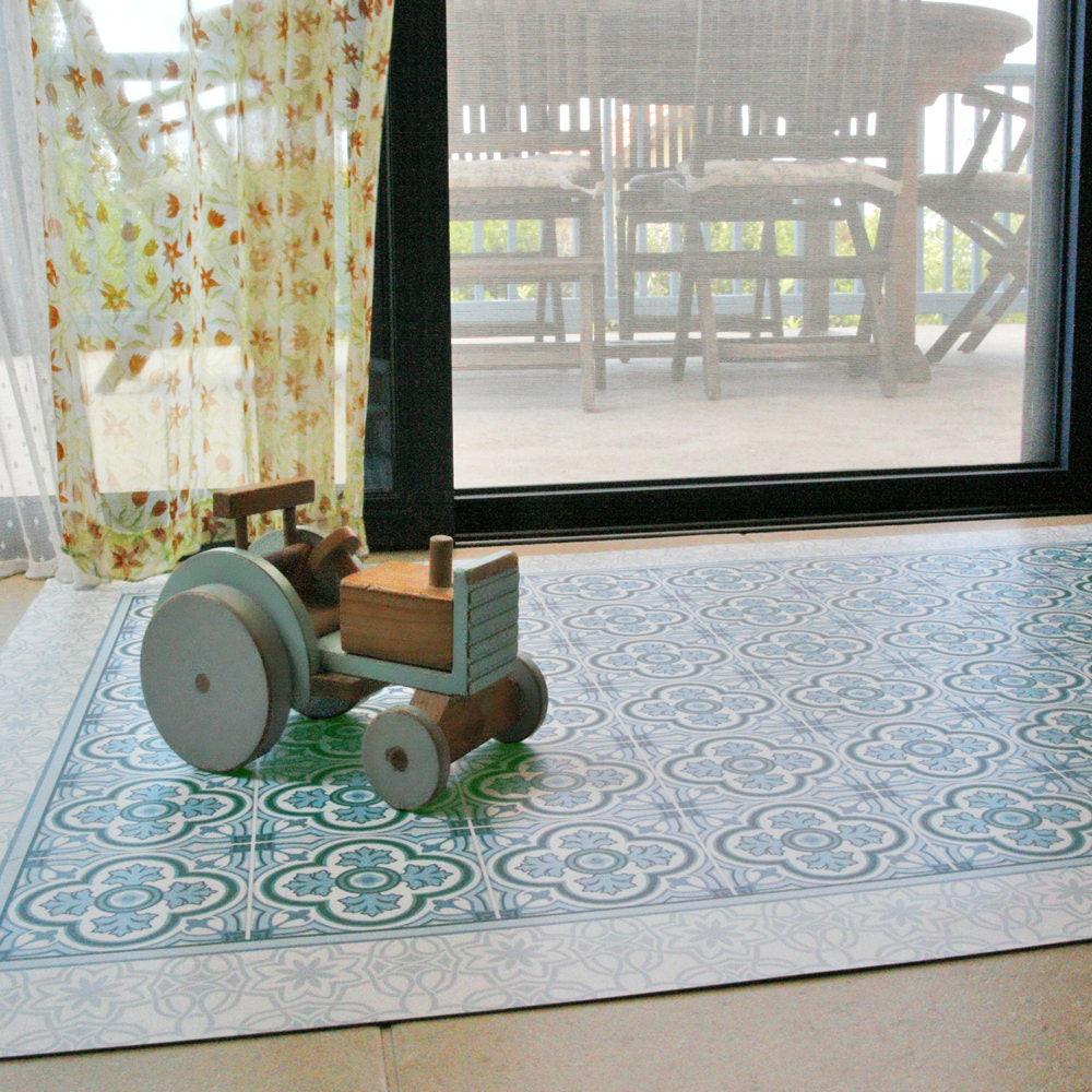 Vinyl Boden Matte Teppich linoleumteppich bedruckt | Etsy