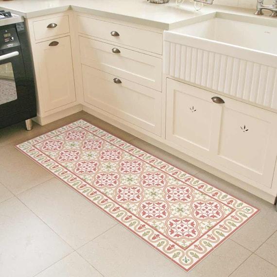 Black Kitchen Floor Runner: Linoleum Rug Runner Vinyl Floor Mat Runner Rug Doormat