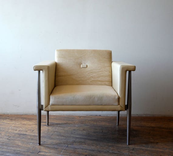 Bernhardt Modern Lounge Chair High End Rare   Etsy