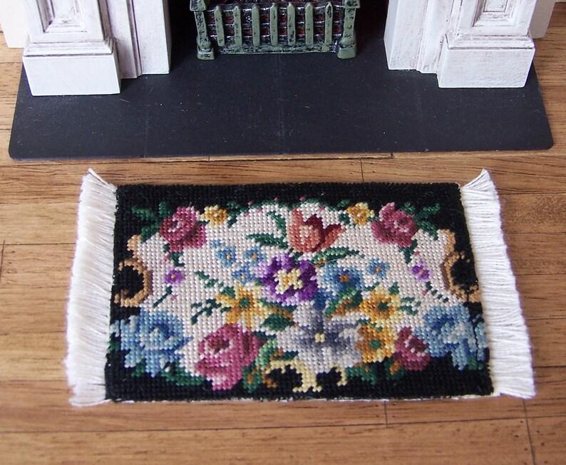 Furniture Toys Toys & Hobbies Well Designed 1:12 Silk Thread Carpet Craft Miniature Dollhouse Floor Fashion Dolls Woven Carpet For Dollhouse Decoration