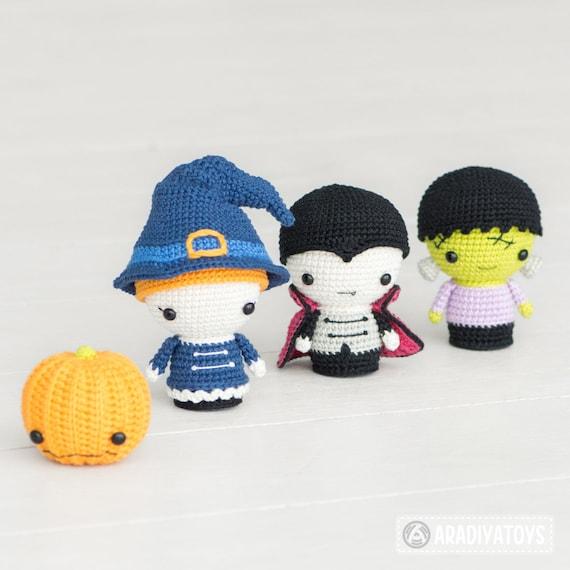 Halloween Minis set from AradiyaToys Minis collection /   Etsy
