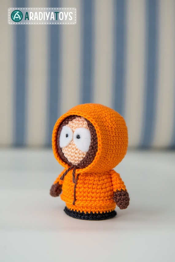 Häkelanleitung für Kenny McCormick aus South Park Amigurumi | Etsy