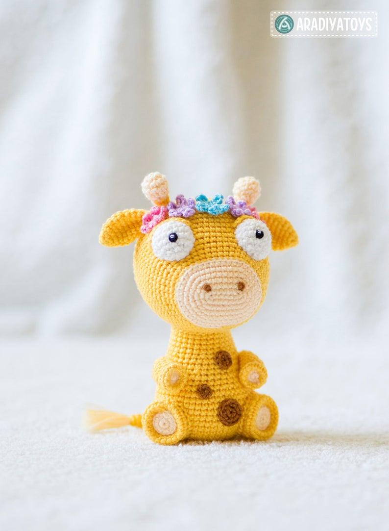 Crochet PATTERN giraffe / amigurumi giraffe / pdf tutorial | Etsy | 1083x794