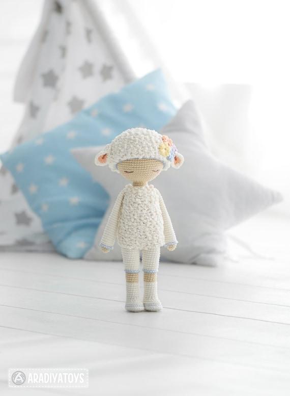 Friendy Wendy de la colección de patrones de crochet de | Etsy