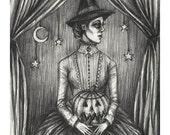 Samhain Witch- Print 5x7...