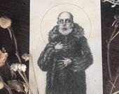 Edward Gorey Portrait - 5...